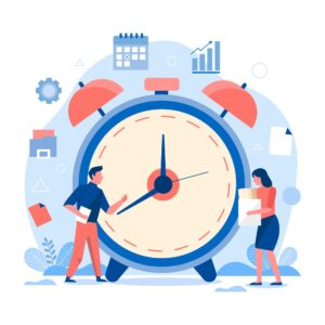 student managing time